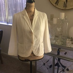 Gap Med Cotton Blazer